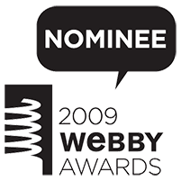 2009 Webby Awards Nominee