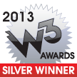 2013 W3 Awards Silver Winner